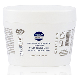 Маска для сохранения цвета и восстановления окрашенных волос – Escalation Color Gentle Mask Lisap Milano, 300 мл